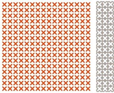 Marianne Design Embossing Folder Extra - Cross Stitching DF3417