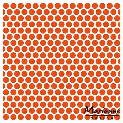 Marianne Design Embossing Folder  - Stippen DF3431