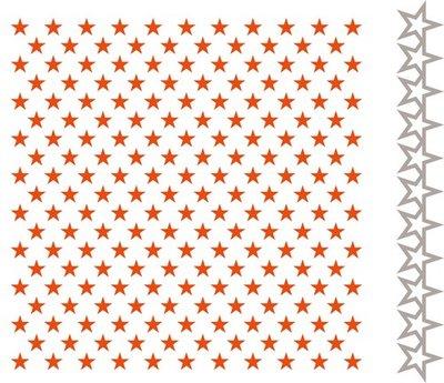 Marianne Design Embossing Folder & Stansmal  - Kleine Sterren DF3427