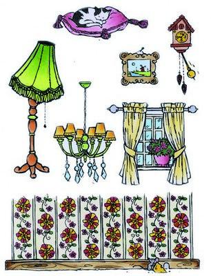 Marianne Design Stempel - At Home DD3343