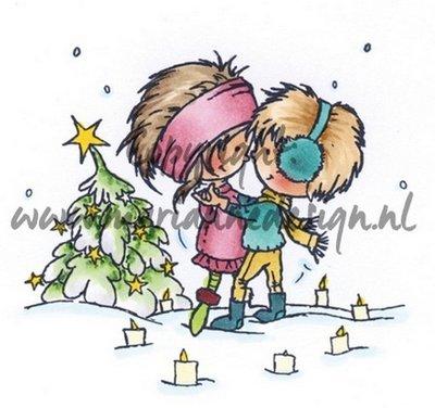 Marianne Design Stempel - A Christmas Romance DD3354