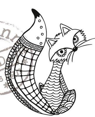 Marianne Design Stempel - Fox EWS2211