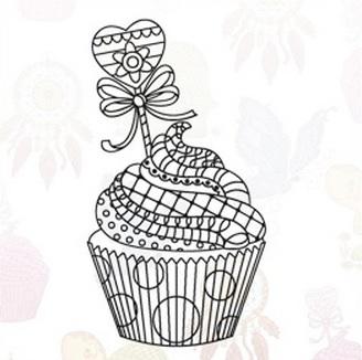 Marianne Design Stempel - Cupcake EWS2219