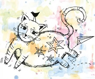 Marianne Design Stempel - Fat Cat MM1611