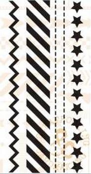 Marianne Design Stempel - Border Sterren PL1504