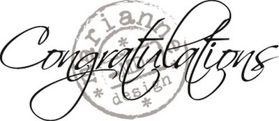 Marianne Design Stempel - Congratulations CS0918