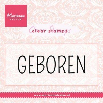Marianne Design Stempel - Geboren CS0959