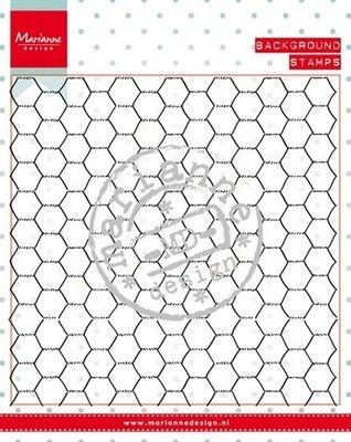 Marianne Design Stempel - Achtergrond Kippengaas CS0955