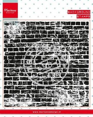 Marianne Design Stempel - Achtergrond Stenen Muur CS0956