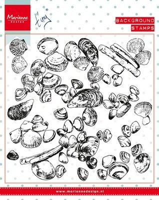 Marianne Design Stempel - Background Sea Shells CS0970