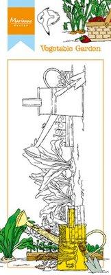 Marianne Design Stempel - Border Moestuin HT1612