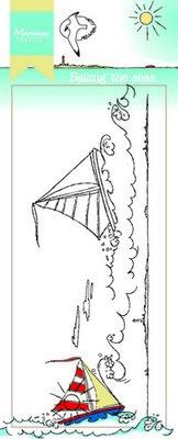 Marianne Design Stempel - Border Sailing the Seas HT1623