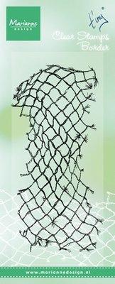 Marianne Design Stempel - Border Fish Net TC0839
