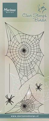 Marianne Design Stempel - Border Spider Web TC0841
