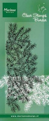 Marianne Design Stempel - Border Pine Tree Branches TC0842