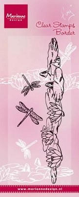 Marianne Design Stempel - Border Waterlelies TC0851