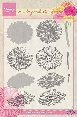 Marianne Design Stempel - Gerbera Layering TC1853 OP=OP