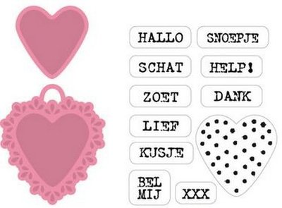 Marianne Design Collectable - Candy Hearts NL COL1306