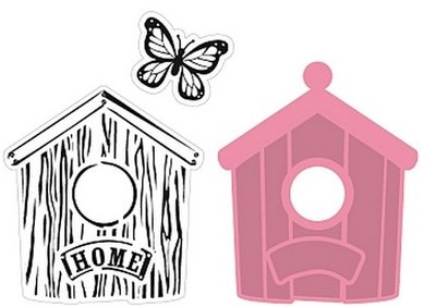Marianne Design Collectable - Birdhouse Home COL1309