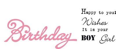 Marianne Design Collectable - Eline's Birthday COL1349