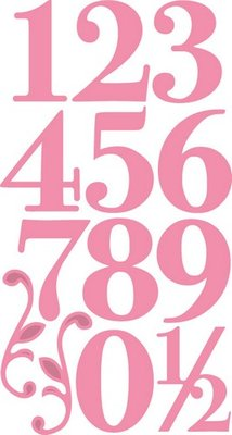 Marianne Design Collectable - Elegant Numbers COL1418