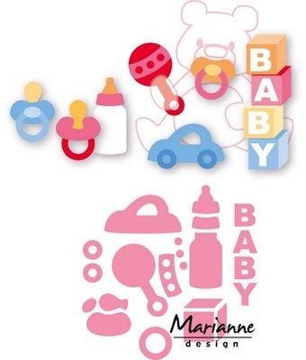 Marianne Design Collectable - Eline's Baby Essentials COL1421