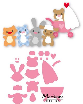 Marianne Design Collectable - Eline's Baby Animals COL1422