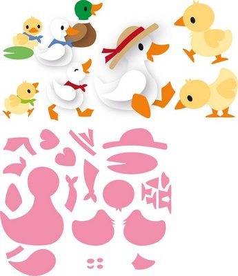 Marianne Design Collectable - Eline's Duck Family COL1428