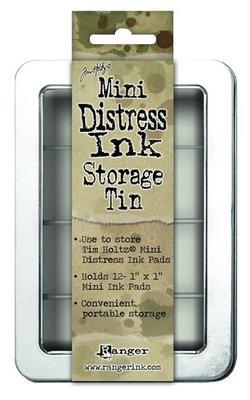Ranger Mini Distress Ink Storage Tin Tim Holtz - TDA42013
