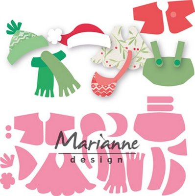 Marianne Design Collectable - Eline's Outfits COL1438