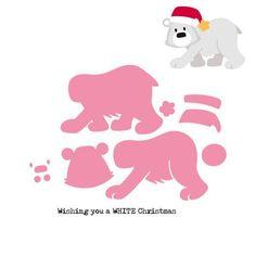 Marianne Design Collectable - Eline's Polar Bear COL1370