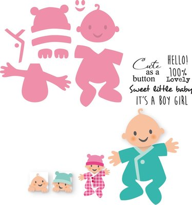 Marianne Design Collectable - Eline's Baby COL1387