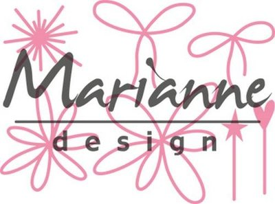 Marianne Design Collectable - Giftwrapping Pins & Bows COL1441