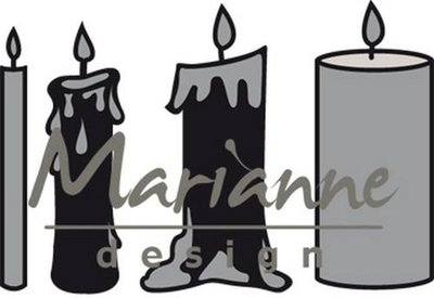 Marianne Design Craftable - Advent Candles CR1425