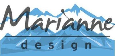 Marianne Design Creatable - Horizon Sneeuw Bedekte Bergen LR0493