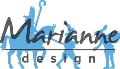 Marianne Design Creatable - Sint & Piet LR0496