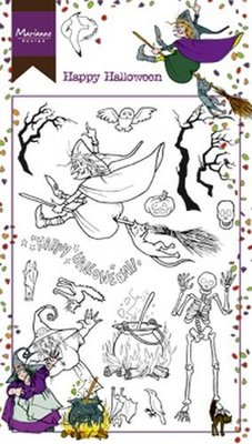 Marianne Design Stempel - Happy Halloween HT1626