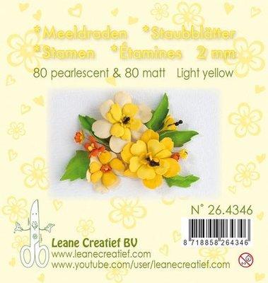 Leane Creatief Meeldraden - Lichtgeel 26.4346