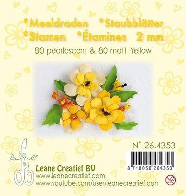 Leane Creatief Meeldraden - Geel 26.4353
