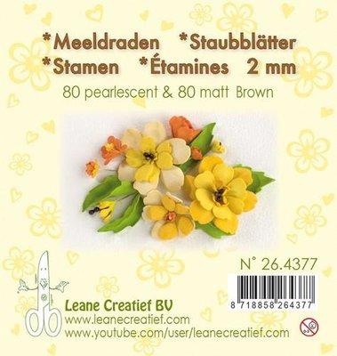 Leane Creatief Meeldraden - Bruin 26.4377