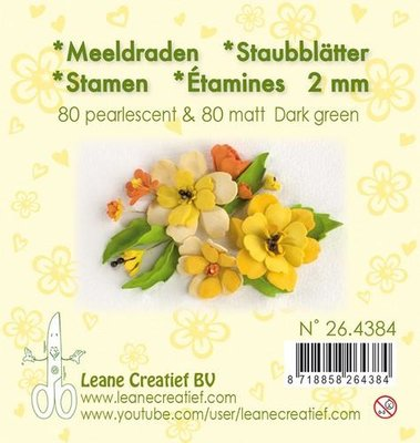 Leane Creatief Meeldraden - Donkergroen 26.4384