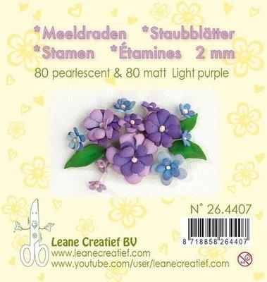 Leane Creatief Meeldraden - Lichtpaars 26.4407