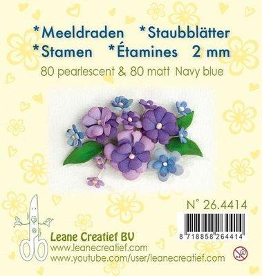 Leane Creatief Meeldraden - Navy Blauw 26.4414