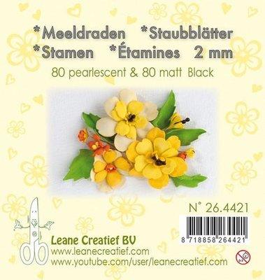 Leane Creatief Meeldraden - Zwart 26.4421