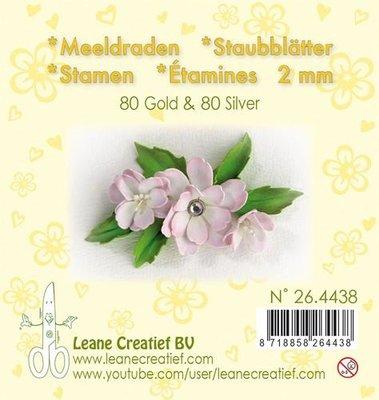Leane Creatief Meeldraden - Goud & Zilver 26.4438