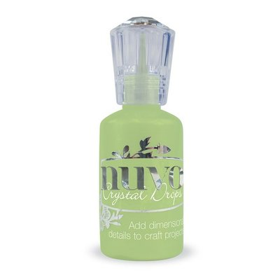 Nuvo Crystal Drops - Apple Green 669N