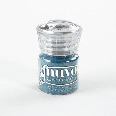 Nuvo Embossing Poeder - Blue Odyssey 609N