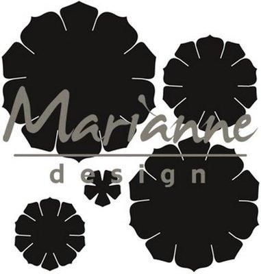 Marianne Design Craftable - Succulent Round CR1430