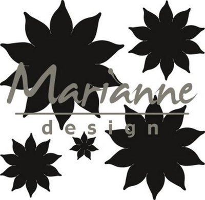 Marianne Design Craftable - Succulent Pointed CR1431