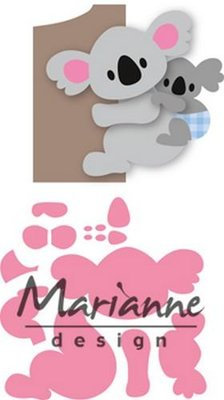 Marianne Design Collectable - Koala & Baby COL1448